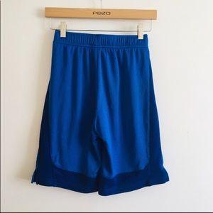 Nike youth large basketball shorts blue